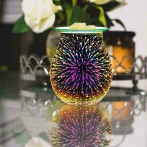 3D Firework Effect Starburst Electric Wax Melt Burner