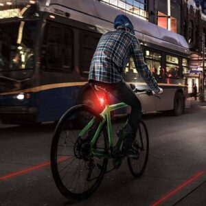 Bicycle Safety Laser Tail Light