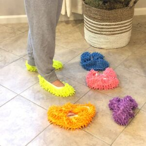 Cool Dust Mop Slippers