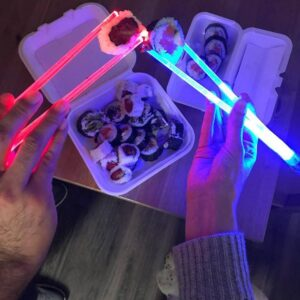 Lighted Up Chopsticks