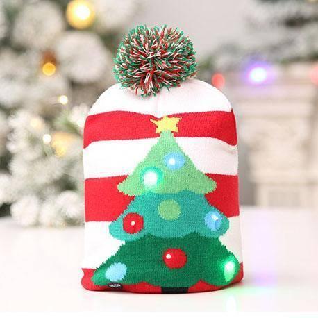 LED Christmas Beanie