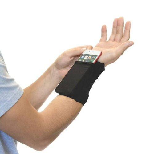 Wrist Wallet with Phone Pocket