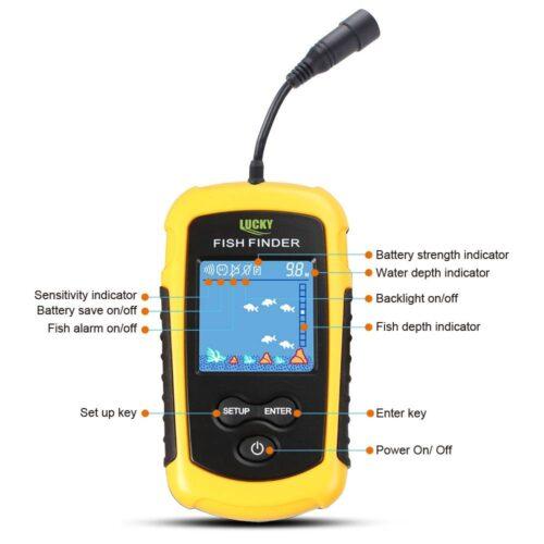 Alarm 100M Portable Sonar Fish Finders