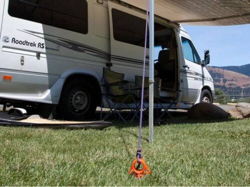 Camping Tent Plastic Ground Screw