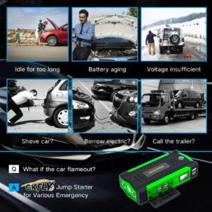 Car Jump Starter Multi-Function 16000mAh Battery Booster Gadkit