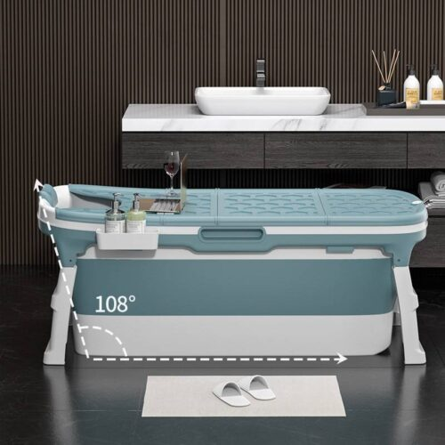 Portable Folding Bathtub Adult Children Swimming Pool