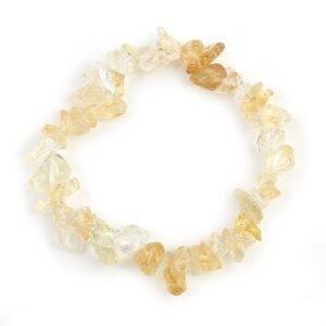 Rose Crystal Natural Gem Stone Bracelet Gadkit