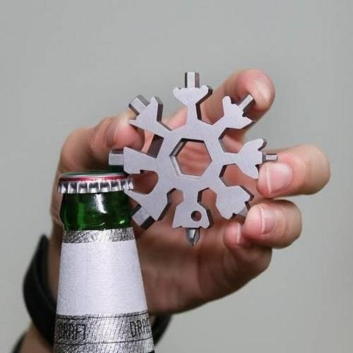18-In-1 Snowflake Multifunctional Tool ( Proven )