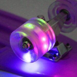 Purple flash Fish Board Mini Cruiser Skateboard Gadkit