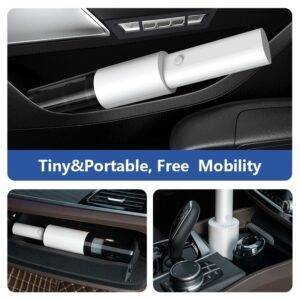 Wireless Portable Car Vacuum Cleaner Gadkit