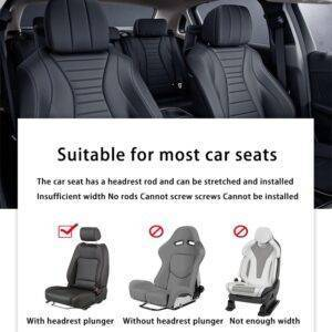 seat covers with built in headrests Gadkit