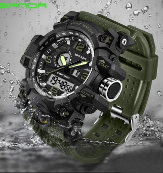 Military Waterproof Outdoor Sports Watch