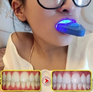 Oral care LED Light tooth whitening instrument.