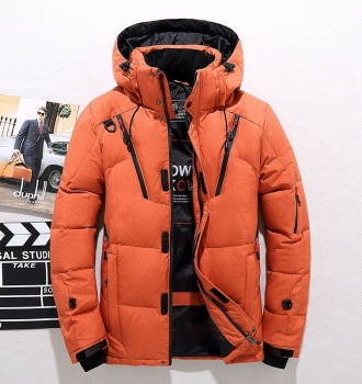 Hooded Snow Jacket  Outerwear (XS-5XL)