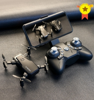 Foldable Mini Drone With RC Quadrocopter + Camera