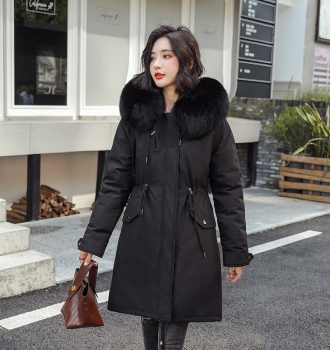 Autumn Winter Warm Velvet Thicken Faux Fur Coats – Outwear