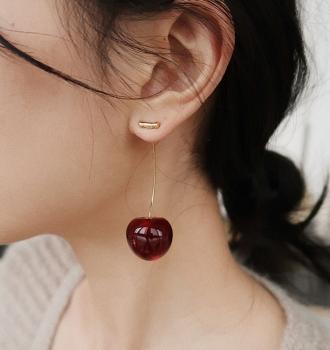 Cherry Cherry Earrings – Fruit Earings (ED568)
