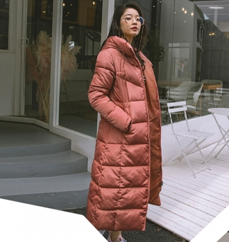 Cotton Padded Female Coat – Womens Parka