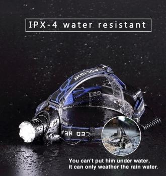 Headlight Waterproof Super bright camping light