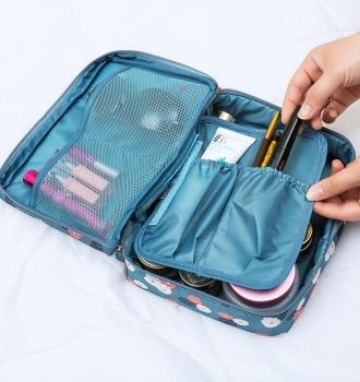 Travel Cosmetic Bag Women Makeup Bags, Organizer