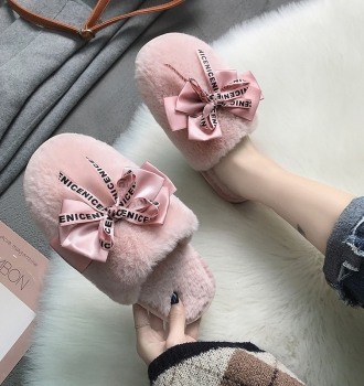 Closed Toe Slippers Winter Warm