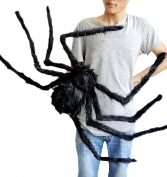 Big Black Spider – Cool Halloween Decor