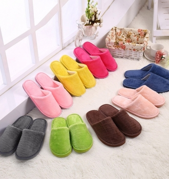 Warm Home Plush Soft Slippers
