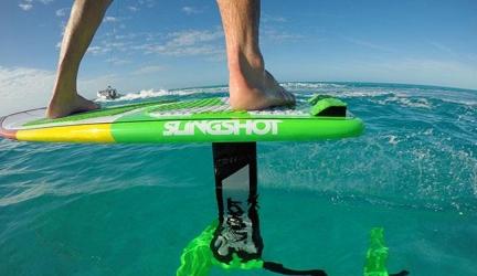 Hydrofoil Slingshot Wakefoil