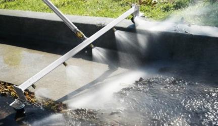 Pressure Water Broom